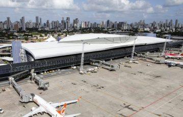 Aeroporto do Recife registra alta de quase 10% nas exportações