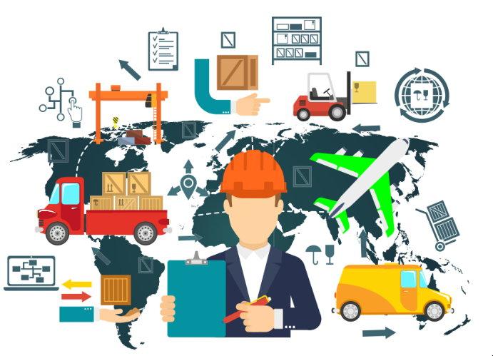 Projetos especiais de logística