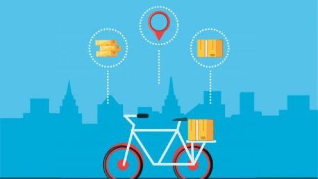 A importância da bike na logística.