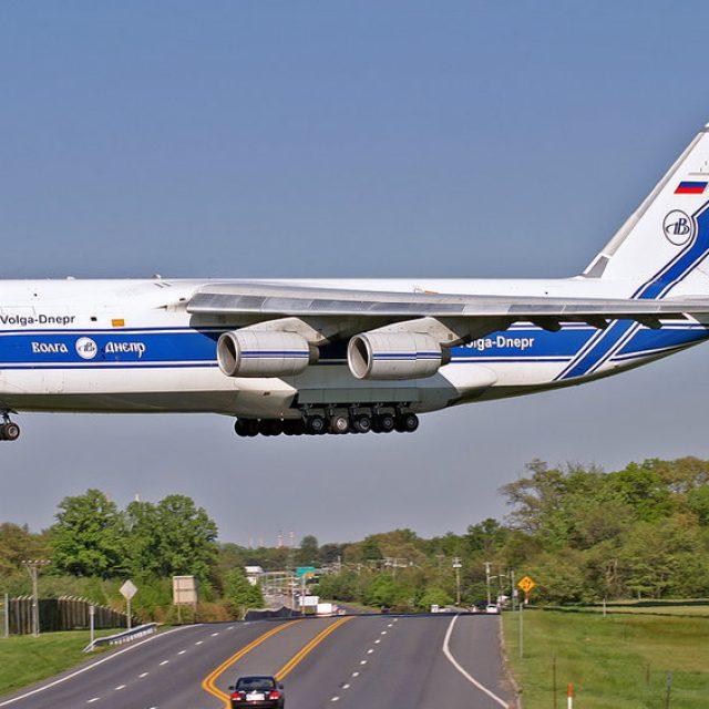 O Antonov 124, o segundo maior avião de cargas do mundo pousou no Aeroporto Internacional de Viracopos
