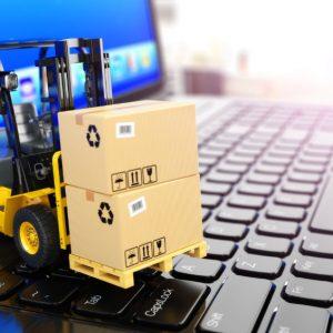 Armazenagem de produtos com acopanhamento online de estoque