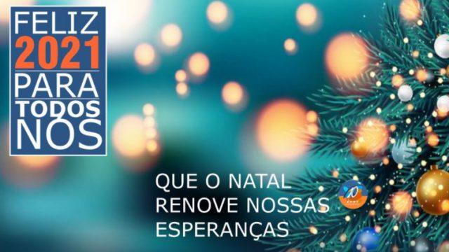 Mensagem de Natal da equipe Maxton Logística 2020