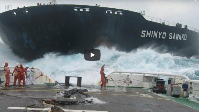 """Você sabe como """"nascem"""" os grandes navios?"""