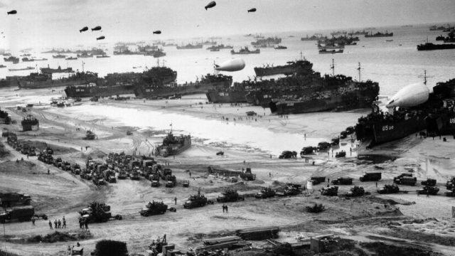 """Qual a relação do Dia """"D"""", em 1944,  e a  LOGÍSTICA?"""
