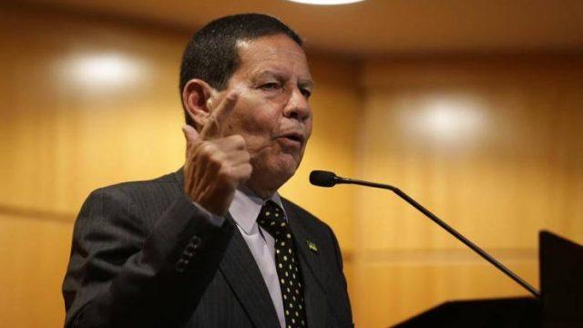 General Mourão vai coordenar a logística do Brasil