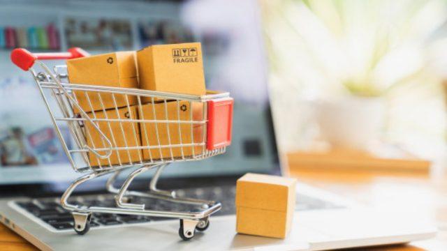 A logística e o e-commerce.