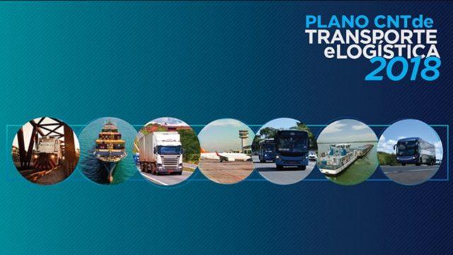 CNT divulga Plano de Transporte e Logística 2018