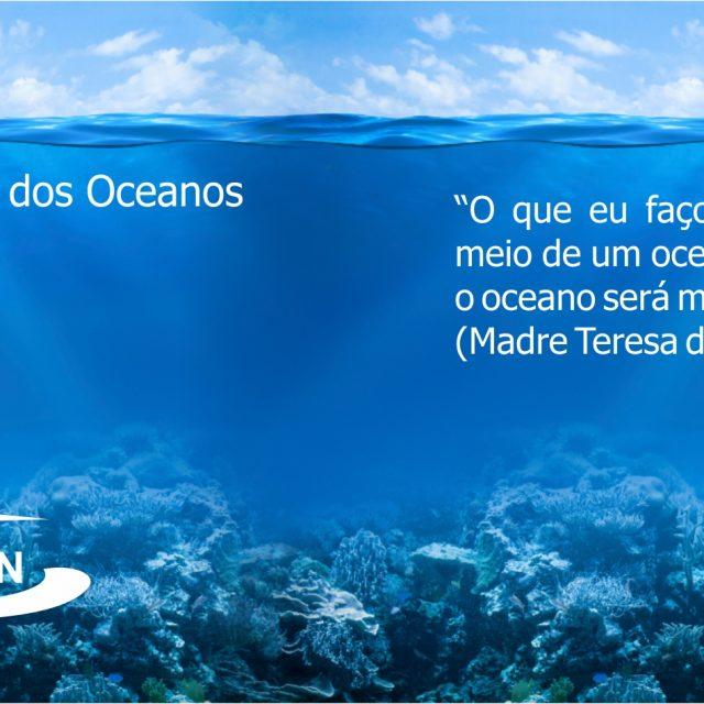 O dia mundial dos oceanos (World Ocean Day) é celebrado em 8 de junho.