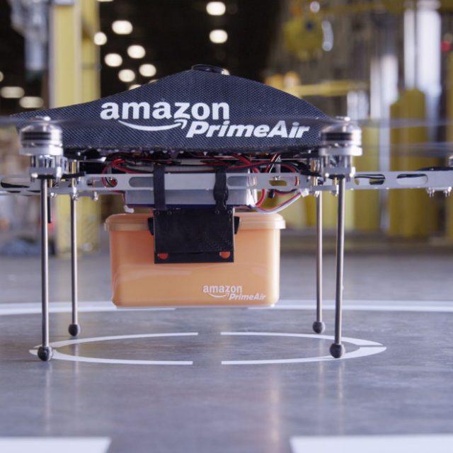 Entrega de cargas com drones?
